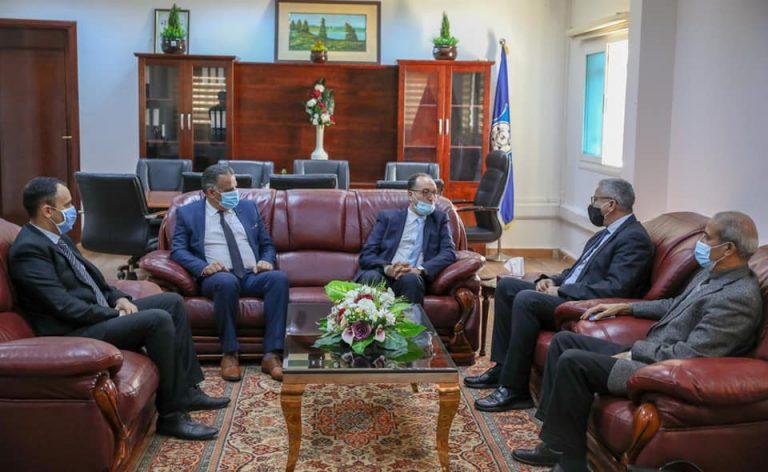 «باشاغا» يستقبل سفير تونس لدى ليبيا